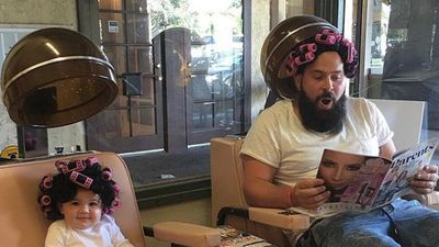 Dad who dresses his baby daughter in hilarious outfits is back!