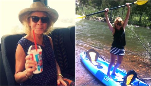 The 58-year-old was full of life before her diagnosis, spending time outdoors.