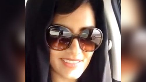 Loujain al-Hathloul has been detained in Saudi Arabia for nearly a month after violating the kingdom's female driving ban. (AAP)