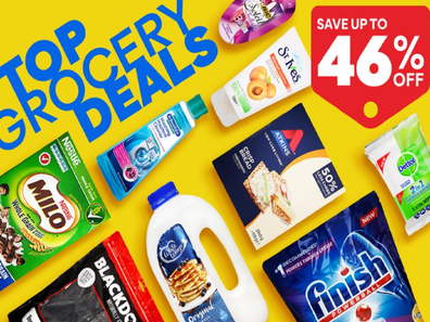 Consumers can save hundreds of dollars a month buy purchasing some groceries on discount websites such as Catch.com.au.