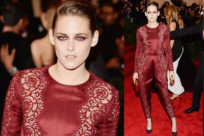 K Stew rocked head-to-toe Stella McCartney for the MET Gala in NYC