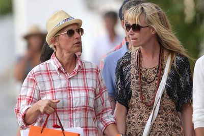 Ellen and Portia indulged in some retail therapy in St Barths.