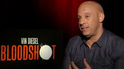Vin Diesel stars in supercharged new superhero film