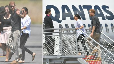 Royals fly Qantas as they jet off to Fiji