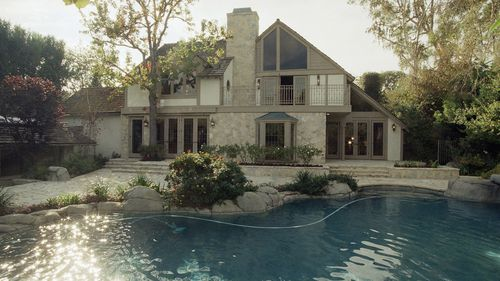 Simpson's Los Angeles home. (AP/AAP)