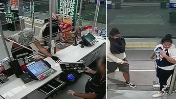 Intruders use ruse and makeshift spear to rob 7-Eleven
