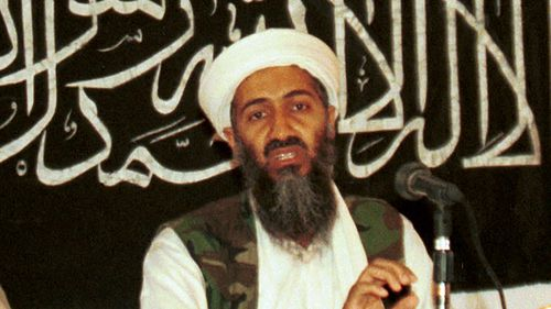 Osama bin Laden at a news conference in Khost, Afghanistan in 1998.