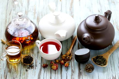 A selection of teas