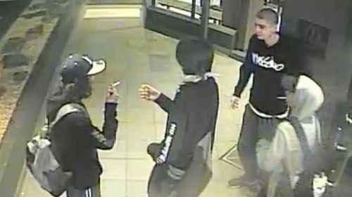 Police are hunting a gang of seven youths over a violent attempted robbery and assault in South Melbourne earlier this week. Picture: Supplied.