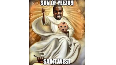 Kim Kardashian-West and Kanye West welcomed a new member to their famous family on Saturday, and today announced they had named him Saint.<br><br>Within hours, hilarious memes playing on his unique name had flooded the internet.<br><br><b>Click through the gallery to see some of the best memes doing the rounds.</b>