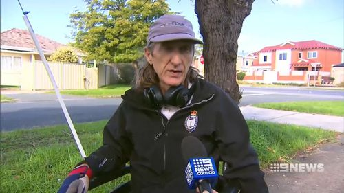 It is not the first time the MS sufferer has been targeted by thieves. Picture: 9NEWS
