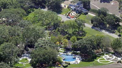 The Neverland Ranch covers 2,700 acres of land outside Santa Barbara. (AAP)