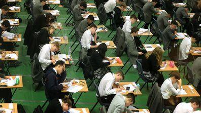 NAPLAN today children sitting exam