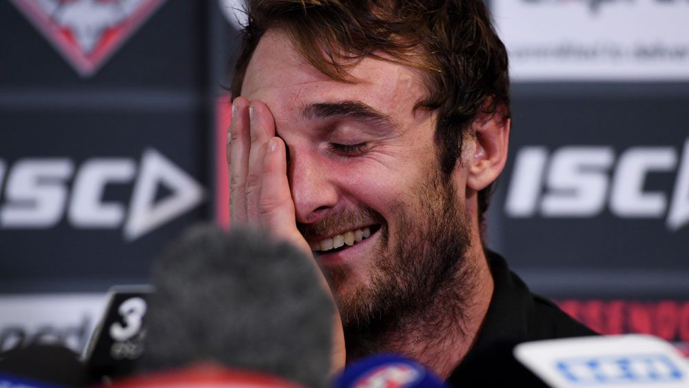 Jobe Watson will return to his cafes in New York City once his AFL career is over. (AAP)