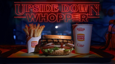 Burger King sells 'Upside Down' Whopper