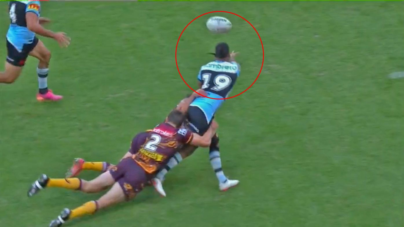 Bunker slammed over 'absolute circus' forward pass debacle during Broncos-Sharks clash
