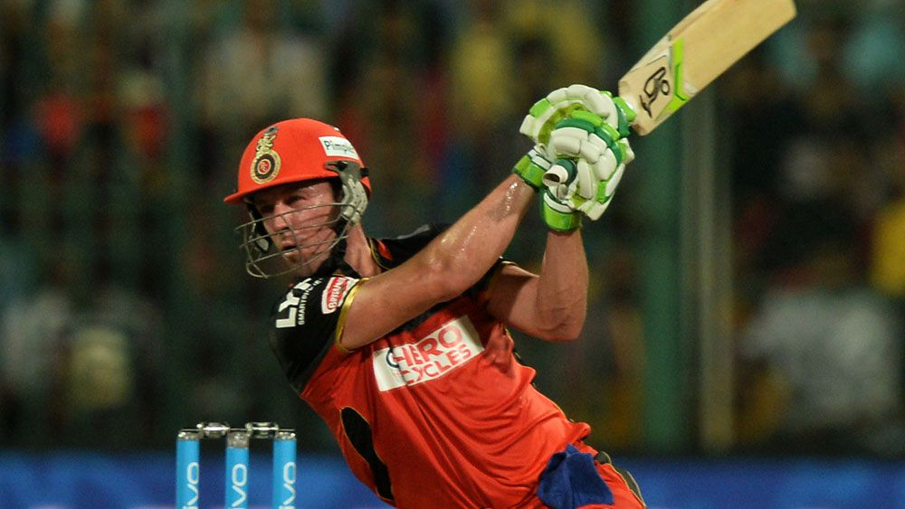 AB de Villiers blasted 82 off 42 balls. (AFP)