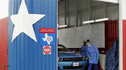 COVID-19 testing, Texas