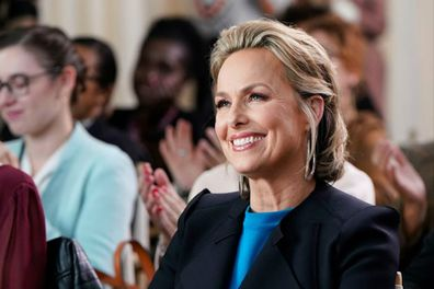 Melora Hardin as Jaqueline Carlyle on The Office.