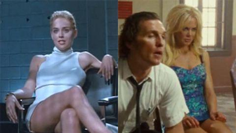 Sharon Stone in Basic Instinct/Nicole Kidman in The Paperboy. Images: Tristar/Lionsgate/Millennium