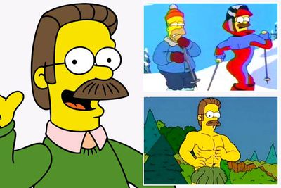 Yes, it's true he's in his sixties, and that moustaches have been out of fashion for a <I>long</I> time. But that plain green sweater hides abs of steels — and have you <I>seen</I> how his butt looks in tight ski pants? Stupid sexy Flanders...