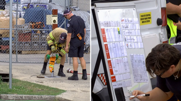 MFB and EPA working together to correctly dispose of more than one-million litres of toxic waste.