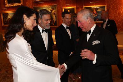 Prince Charles, Amal Clooney and George Clooney