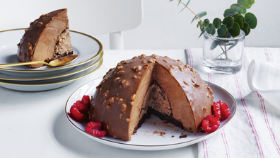 Coles Ferrero Rocher mousse Christmas dessert
