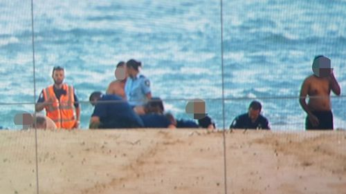 Two men have drowned on Moonee Beach, near Coffs Harbour.
