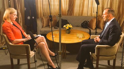 7.30 host Leigh Sales interviews Prime Minister Tony Abbott in Canberra.