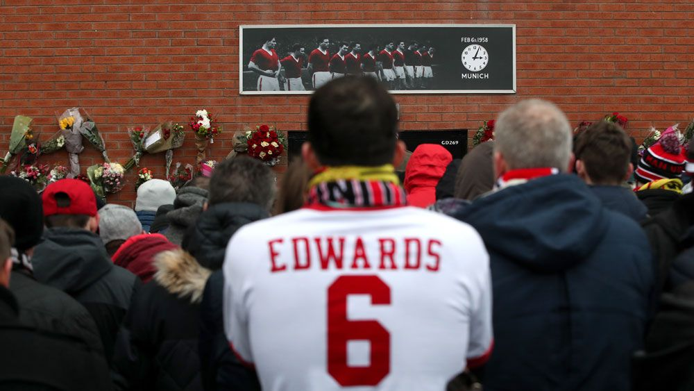 Services held to mark 60th anniversary of Manchester United Munich air disaster