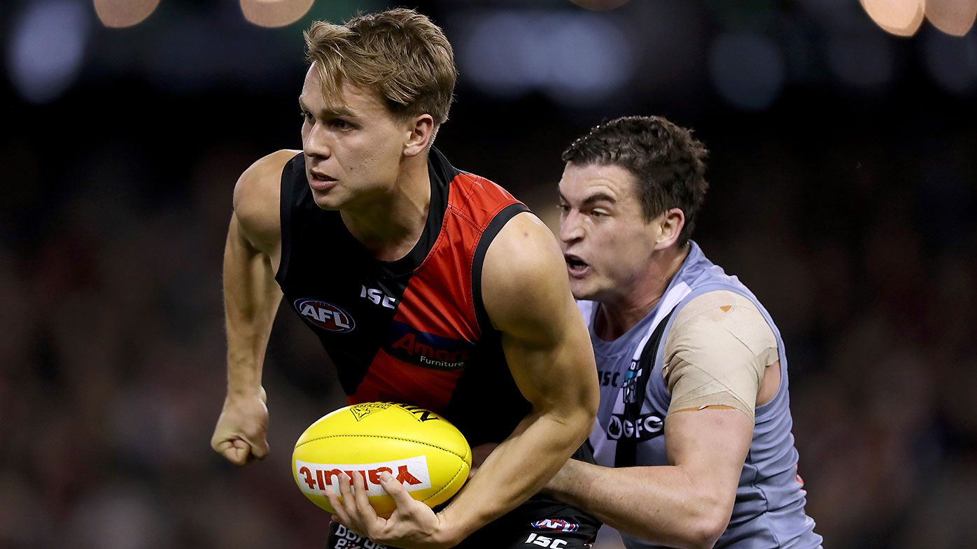 'Unbelievable' Dylan Clarke brain-fade sums up dismal Essendon performance against Port Adelaide