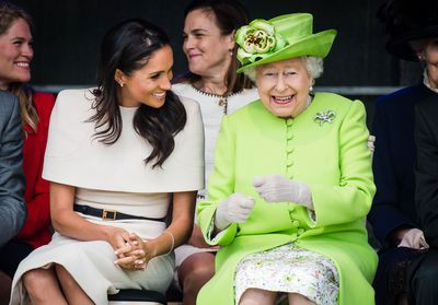The Duchess of Sussex and the Queen's day out, June