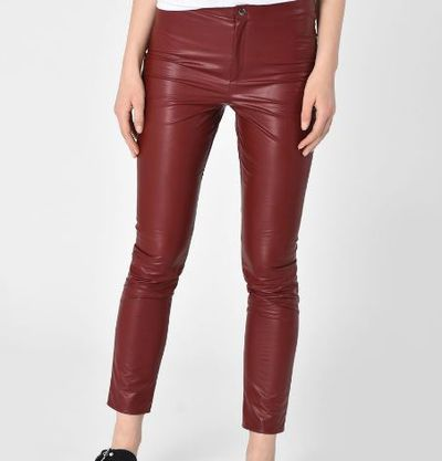 "Faux leather trousers, <a href=""https://www.isabelmarant.com/au/isabel-marant-etoile/pant_cod13006042mt.html"" target=""_blank"">Isabel Marant Etoile</a>, $415<br />"