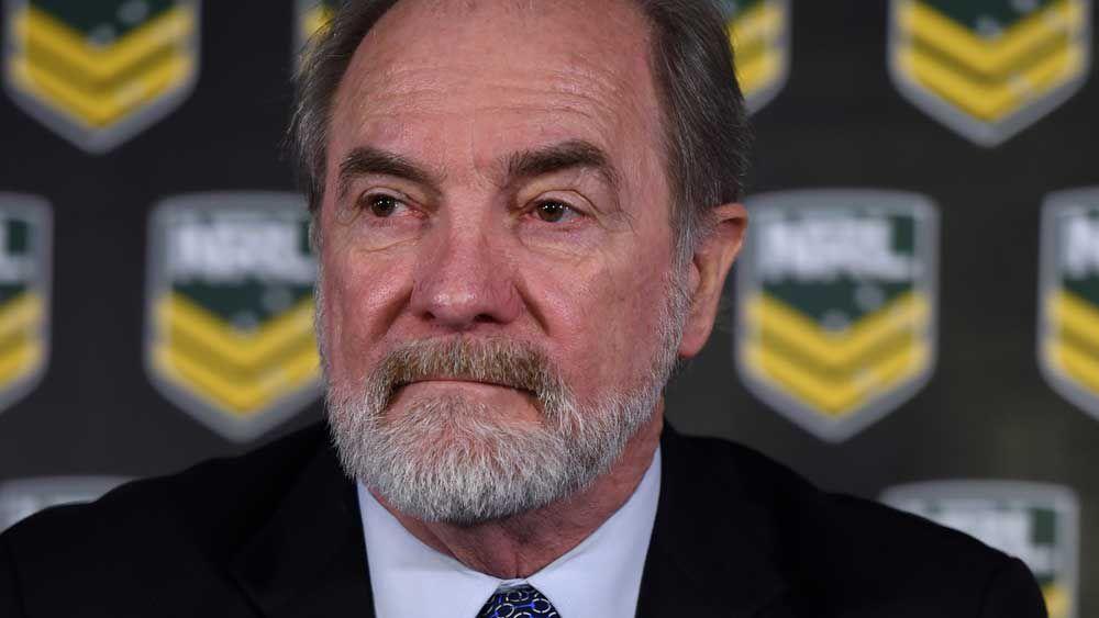 NRL chairman John Grant. (AAP)