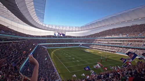Plans for Allianz Stadium costing $800 million will continue to go ahead. (Supplied)