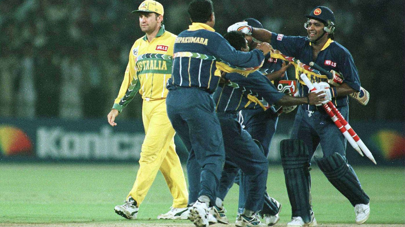 Arjuna Ranatunga 1996 World Cup Final