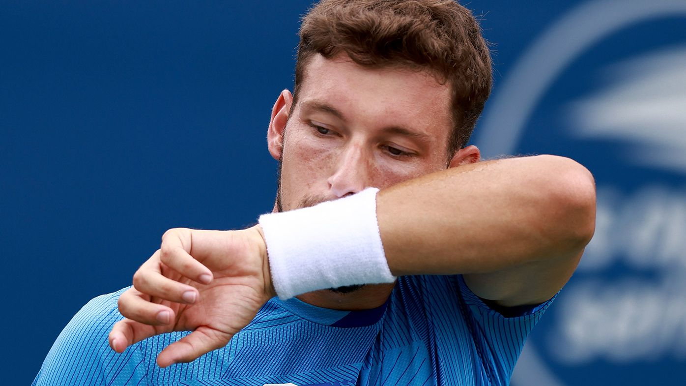 Pablo Carreno Busta blew four match points in his first round match at the US Open.