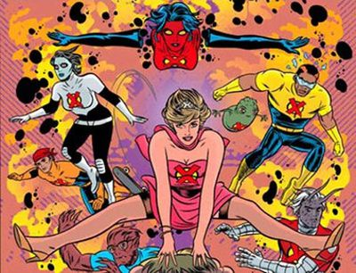 ...in the <i>X-Statix</i> issue 'Di Another Day'.
