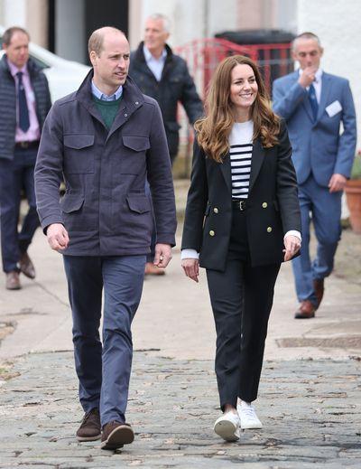 Prince William's Scotland tour with Kate Middleton