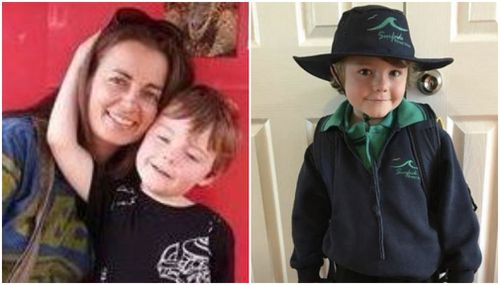 Joanne Finch, 41, appeared in court this morning charged with the murder of her son Brodie. (Facebook)