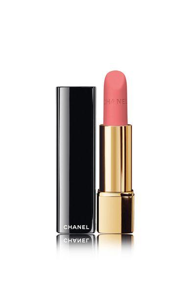 """<p><a href=""""http://shop.davidjones.com.au/djs/en/davidjones/rouge-allure-velvet-luminous-matte-lip-colour"""" target=""""_blank"""" draggable=""""false"""">Chanel Rouge Allure Velvet Luminous Matte Lip Color in La Secrete, $53</a></p>"""