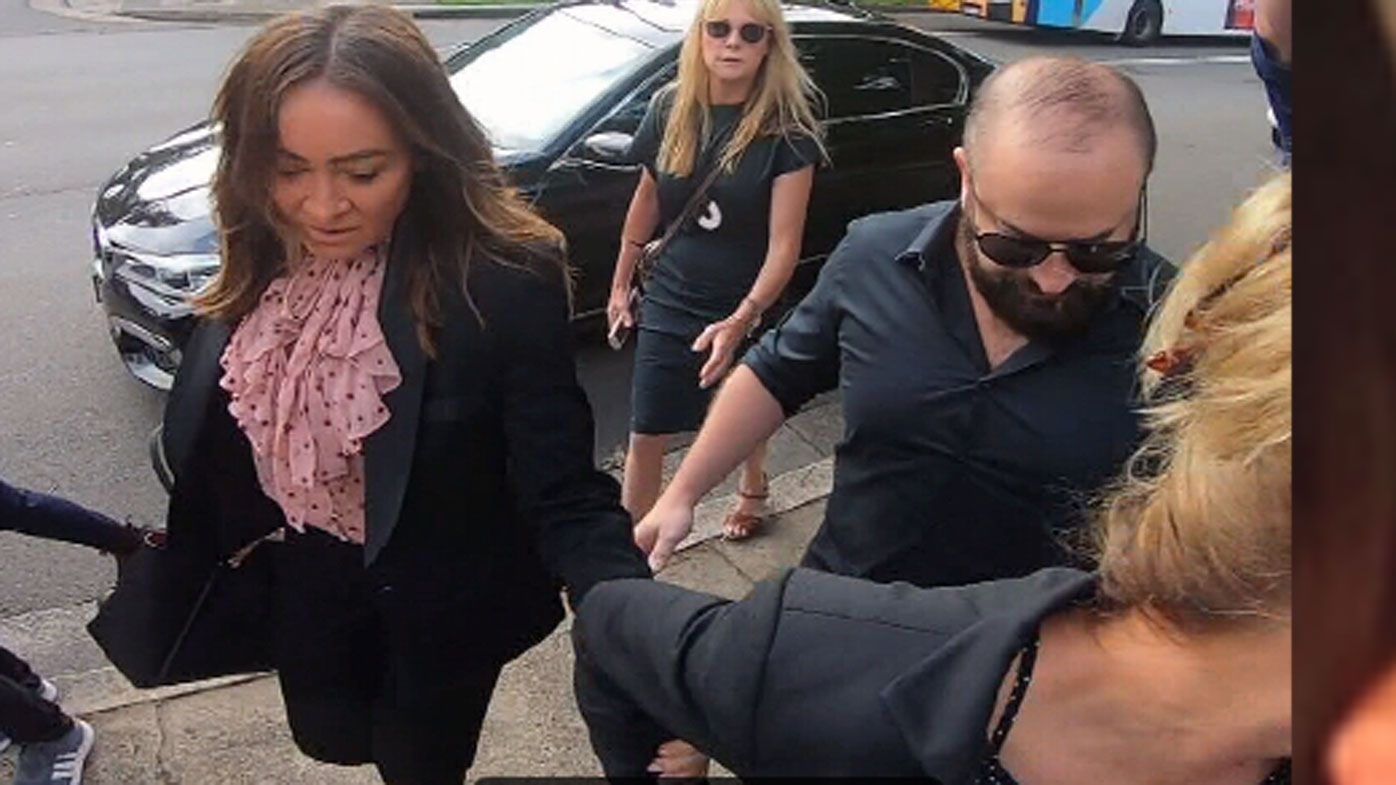 Crying celeb trainer Michelle Bridges apologises after driving ban