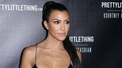 "<p>Kourtney Kardashian's much-awaited fashion line with <a href=""https://www.prettylittlething.com.au/"" target=""_blank"">Pretty Little Thing</a> has dropped and it is quite something.</p> <p>The range includes 43 separate items including bodycon dresses, jumpsuits, shoes, a jacket and even a diamante choker with her name on it.</p> <p>The colour palette includes black, fuchsia, lime and a floral pattern. There's lipstick pink stiletto ankle boots and a pair of silver strappy heels too. The range is revealing with touches of lace, sequins and even crystal detailing.</p> <p>Every piece is revealing in the extreme - but then this is a Kardashian range so that's hardly surprising. Like the sound of that? Scroll through and see Kourtney modelling her most risque pieces. Maybe buy a couple too.</p>"