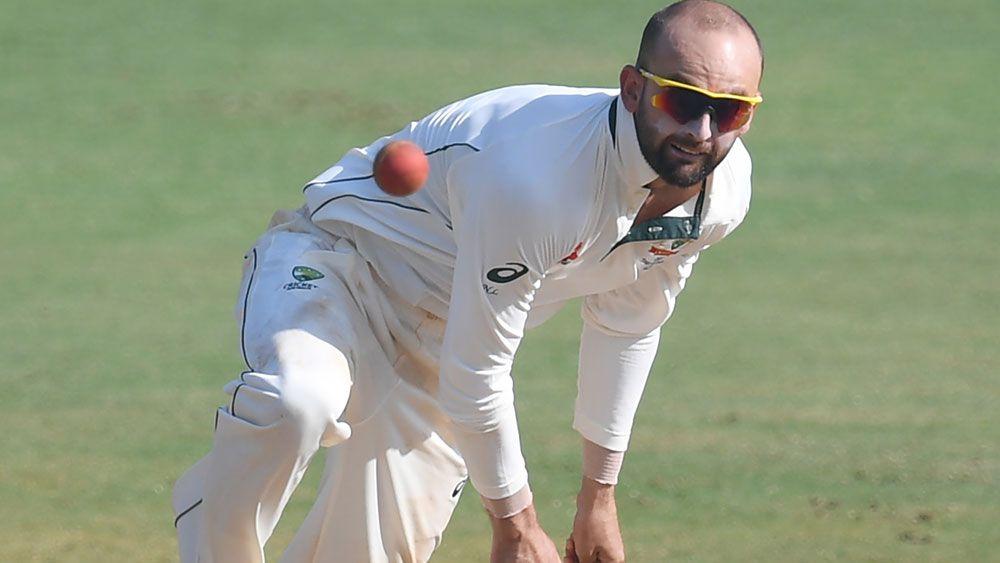 Australian spinner Nathan Lyon had a tough time against India A in Mumbai. (AAP)