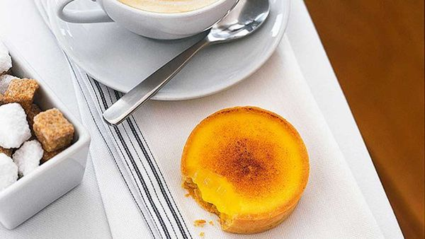 Matt Moran's baked passionfruit tartlets recipe