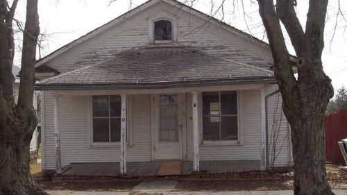 The home in Skidmore where Bobbie-Jo Stinnett was murdered.