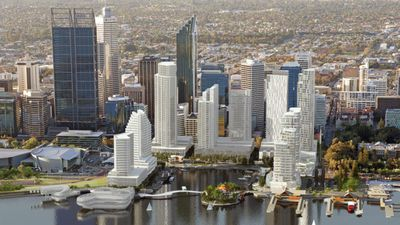 The public will have access to Elizabeth Quay 24/7. (AAP, artist impression)
