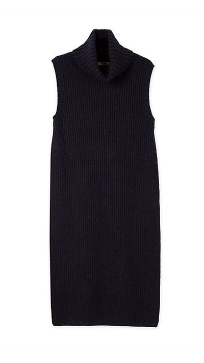 "<a href="" http://www.countryroad.com.au/Product/60176317 "">Sleeveless Roll Neck Tunic, $149, Country Road</a>"