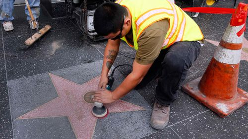 Graffiti removed from Bill Cosby's Hollywood Walk of Fame star